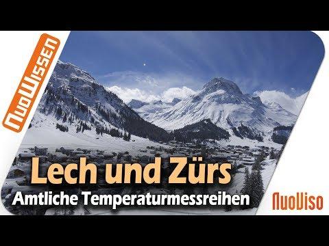 LECH und ZÜRS - Eine Analyse amtlicher Temperatur-und Schneemessreihen
