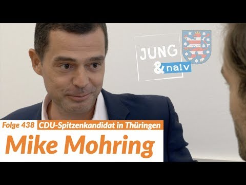 CDU-Spitzenkandidat Mike Mohring | Wahl in Thüringen - Jung & Naiv: Folge 438