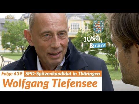 Wirtschaftsminister Wolfgang Tiefensee (SPD)   Wahl in Thüringen - Jung & Naiv: Folge 439