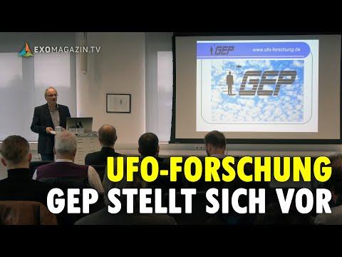 UFO-Forschung in Deutschland: GEP e.V. stellt sich vor (Hans-Werner Peiniger, Kassel 2019)