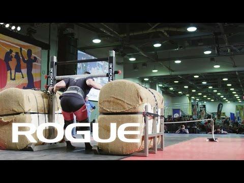 2014 Arnold Strongman Classic - BALE TOTE (Yoke)