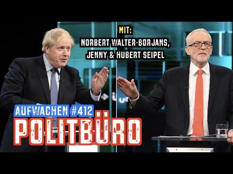Aufwachen #412: CDU-Parteitag, Wahl in GB, China & SPD (mit Norbert Walter-Borjans)