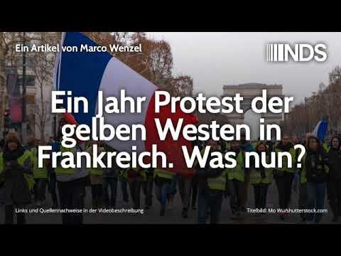 Ein Jahr Protest der gelben Westen in Frankreich. Was nun?   Marco Wenzel   06.11.2019