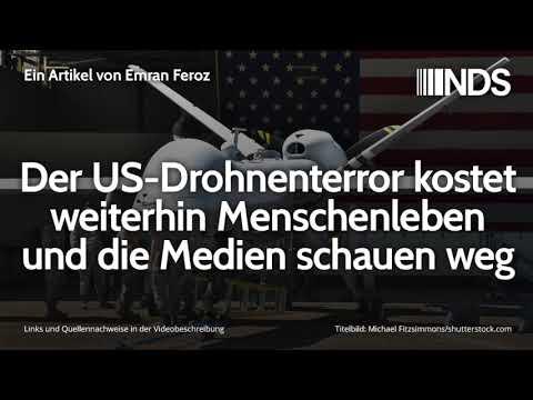 Der US-Drohnenterror kostet weiterhin Menschenleben und die Medien schauen weg   Emran Feroz
