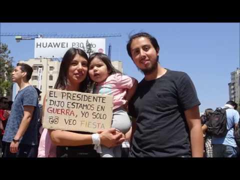 Bericht: Chile ist erwacht / Gespräch mit Omar Salazar Bravo u. Helmut Sonnenstädt