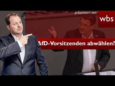 Nach Halle retweet: Kann man den AfD-Rechtsausschuss Vorsitzenden abwählen?   RA Christian Solmecke