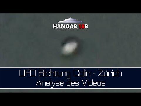 UFO Sichtung Colin - Zürich - Analyse des Videos