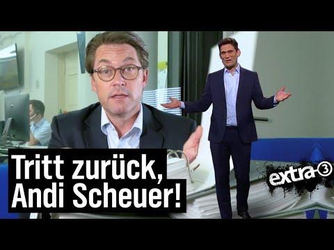 Andreas Scheuer: Fachkräftemangel in Person   extra 3   NDR
