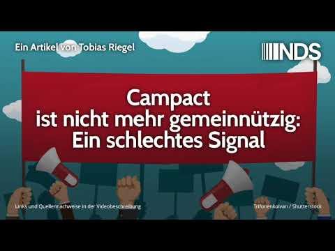 Campact ist nicht mehr gemeinnützig: Ein schlechtes Signal   Tobias Riegel   22.10.2019