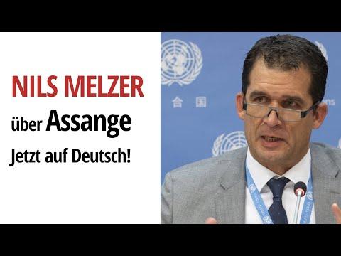 DEUTSCH: Nils Melzer – UN-Sonderberichterstatter für Folter – bespricht den Fall von Julian Assange