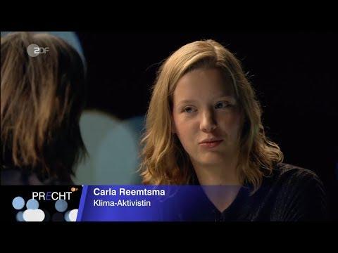 Richard D. Precht - Carla Reemtsma / KlimaRevolution / ZDF 15.09.2019