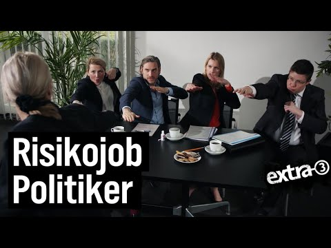 Risikojob Politiker | extra 3 | NDR