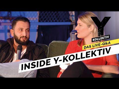 """Talk über """"Rap Hack"""", Nazi-Aussteiger und Tamponsteuer - Inside Y-Kollektiv"""