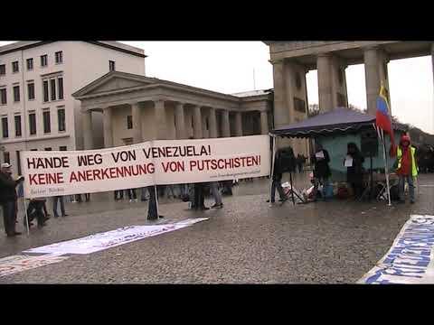 Begrüßung - Saludos de #Berlin Solidaridad Internacional Latinoamerica! 14.12.2019