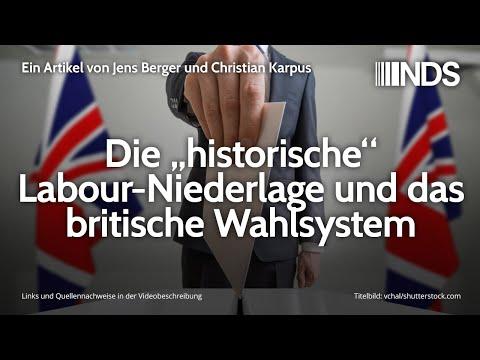 """Die """"historische"""" Labour-Niederlage und das britische Wahlsystem   Jens Berger   NDS   17.12.2019"""