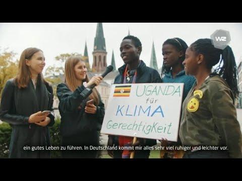 Tanzen für Klimagerechtigkeit – Jugendliche aus Uganda in Oldenburg | Werkstatt Zukunft