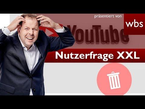Neue YouTube-AGB: Werden jetzt Kanäle gelöscht? Was ist dran?   Rechtsanwalt Christian Solmecke