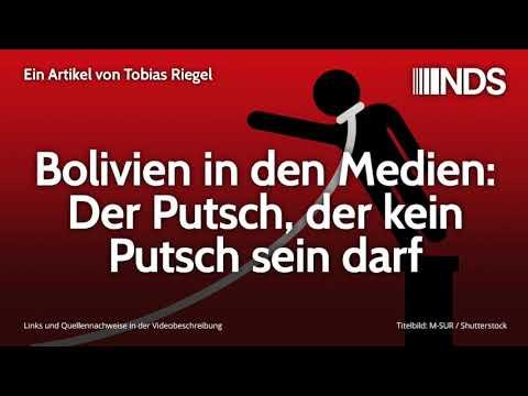 Bolivien in den Medien: Der Putsch, der kein Putsch sein darf   Tobias Riegel   12.11.2019