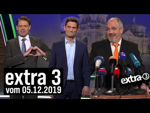 Extra 3 vom 05.12.2019 im Ersten   extra 3   NDR