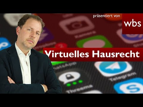 Dürfen Netzwerke, Foren & Co. Kommentare löschen? Das virtuelle Hausrecht   Christian Solmecke