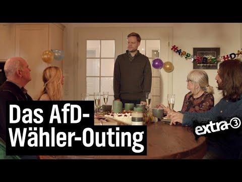 Die Wahrheit über AfD-Wähler   extra 3   NDR