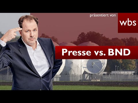 Geheimdienst vs. Presse: Muss BND Auskunft geben?   Rechtsanwalt Christian Solmecke