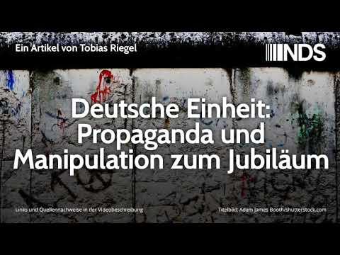 Deutsche Einheit: Propaganda und Manipulation zum Jubiläum | Tobias Riegel | NachDenkSeiten-Podcast