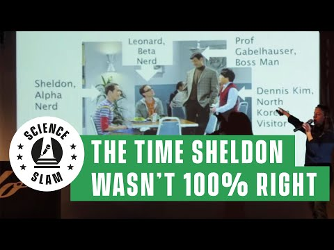 The time when Sheldon Cooper wasn't 100% correct (Science Slam)