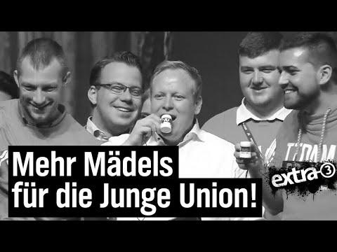 Unions tönende Wochenschau: Deutschlandtag der JU | extra 3 | NDR