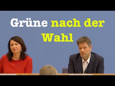 Robert Habeck & Anja Siegesmund: Die Grünen nach der Wahl in Thüringen | BPK