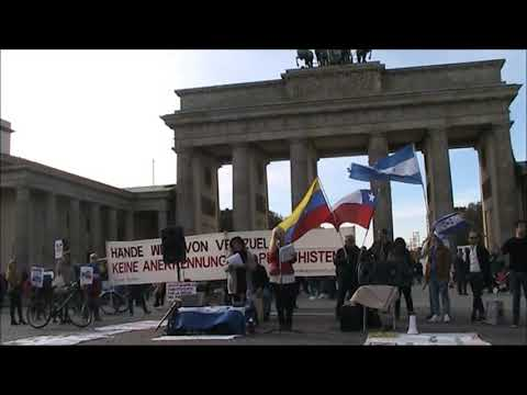 26.10. Solidarische Grüße aus Berlin nach Venezuela / Bolivien / Chile / Ecuador / Cuba