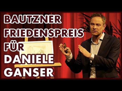 Daniele Ganser erhält Bautzner Friedenspreis   Die Dokumentation