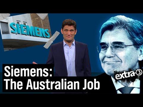 Siemens' australisches PR-Desaster   extra 3   NDR