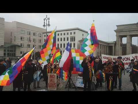 Song by Pablo Miró 16.11.19 #Berlin Solidaridad con América Latina - Solidaridad con Bolivia