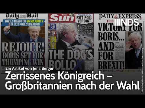 Zerrissenes Königreich – Großbritannien nach der Wahl | Jens Berger | NDS | 13.12.2019