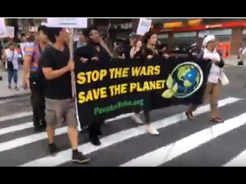 Protest New York 22.9. – Aktionstage gegen Kriege & Umweltzerstörung - www.peoplesmobe.org