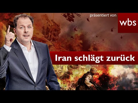 Iran greift an - Trump will Frieden   Rechtsanwalt Christian Solmecke