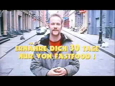 Supersize Me - Mc Donalds german trailer