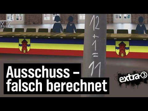 Realer Irrsinn: Zu viele Ratsmitglieder in Delmenhorst | extra 3 | NDR