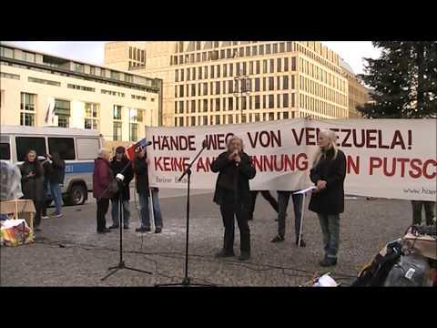 #Berlin 7.12.19 Rede von Mauro, KP Peru / Solidarität mit Lateinamerika #HaendewegvonVenezuela