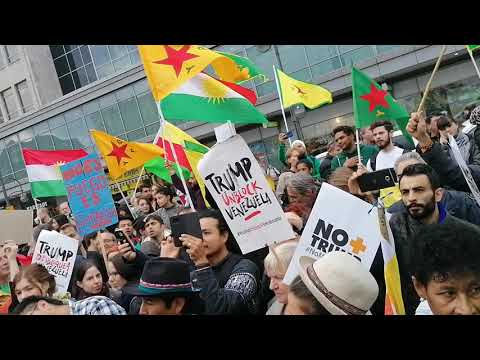 Antikoloniale Demo Berlin 12.10.2019 - Latino America Unida #1