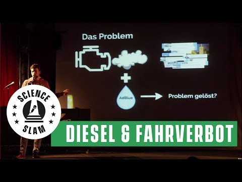 Der Diesel, der Wasserstoff und Fahrverbote in Stuttgart (Enno Eßer– Science Slam)