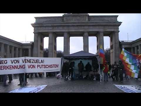 Kundgebung #Berlin 14.12. - Internationale Solidarität / Thomas, CubaSi - #HaendswegvonVenezuela
