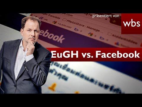 EuGH: Einbettung des Facebook-Like-Buttons rechtswidrig   Rechtsanwalt Christian Solmecke