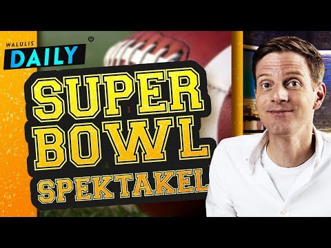 Die spektakuläre Superbowl-Show (garantiert ohne Football!) | WALULIS DAILY