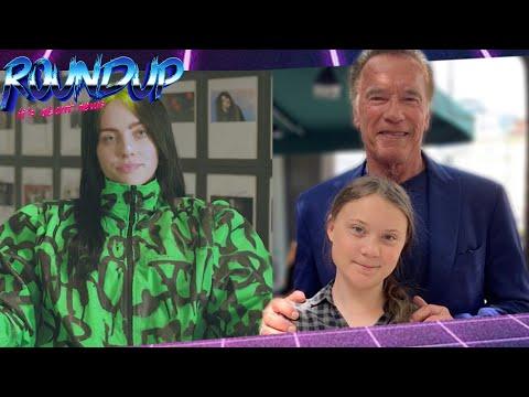 Arnold Schwarzenegger schenkt Greta Thunberg Tesla - Billie Eilish ruft zum Klimaschutz auf!