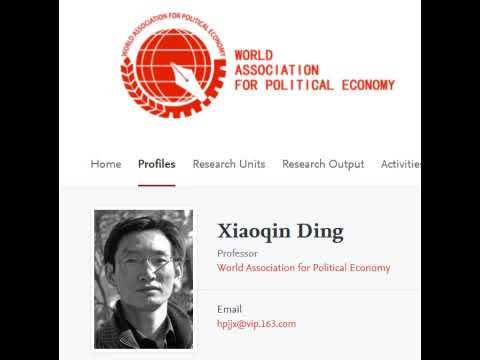 China-Konferenz: Ding Xiaoqin über soz. Marktwirtschaft, Staatskapitalismus, neolib. Kapitalismus
