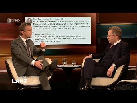 Showdown: Hans-Georg Maaßen vs. Markus Lanz 17.12.2019 - Bananenrepublik