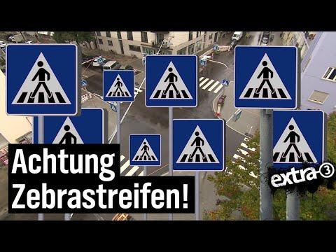 Realer Irrsinn: 32 Schilder an Zebrastreifen in München | extra 3 | NDR