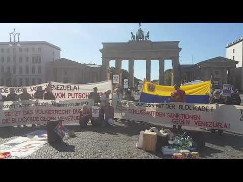 #ForPeaceNoMasTrump #HaendewegvonVenezuela #Berlin 21.9.2019